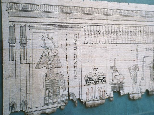 Egypt.Papyrus, Book of the Dead